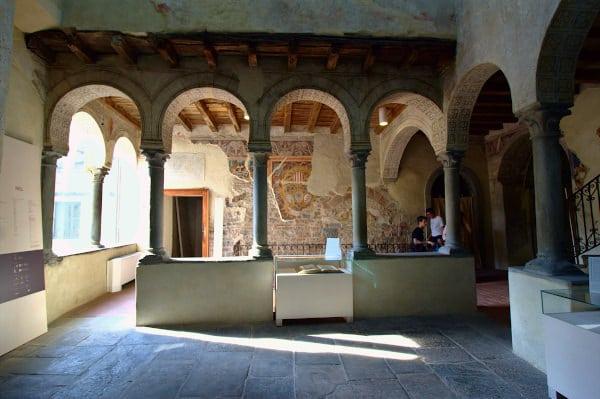 Palazzo del Podestà di Bergamo-Museo del Cinquecento-Cavedio-Affreschi