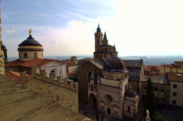 Cosa vedere a Bergamo-Piazza Duomo-Cappella Colleoni-Panorama-Campanone-Torre Civica