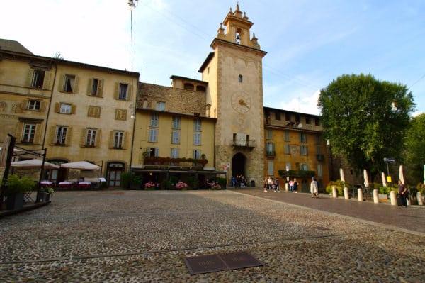 Cosa vedere a Bergamo-Città Alta-Cittadella Viscontea-Porta della Campanella