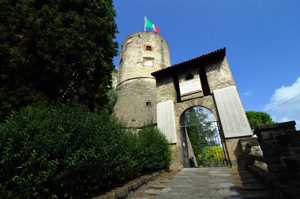 Torre della Rocca -Colle di Sant'Eufemia-Museo dell'Ottocento