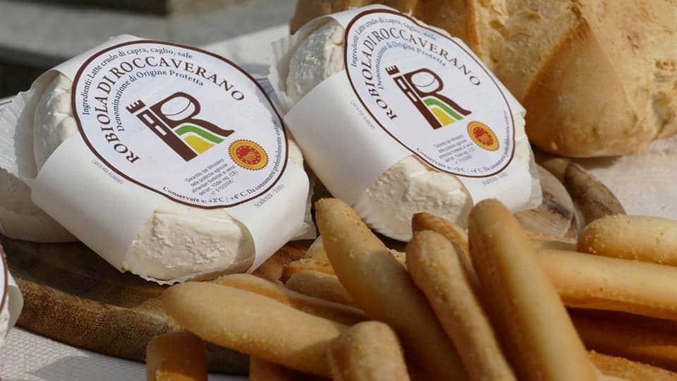 Robiola di Roccaverano-formaggio-grissini-Consorzio di Tutela formaggio Robiola di Roccaverano